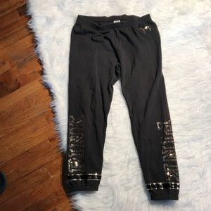 Victoria's Secret Pink sequins sweats